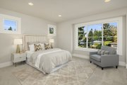 Contemporary Style House Plan - 5 Beds 4.5 Baths 4313 Sq/Ft Plan #1066-125 Interior - Bedroom