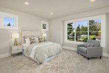 House Plan Design - Contemporary Interior - Bedroom Plan #1066-125