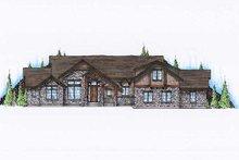 Bungalow Exterior - Front Elevation Plan #5-380