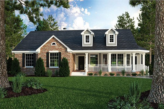 Home Plan Design - Country Exterior - Front Elevation Plan #472-149