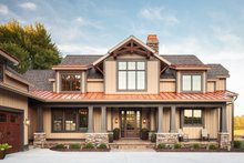 Craftsman Exterior - Front Elevation Plan #928-260