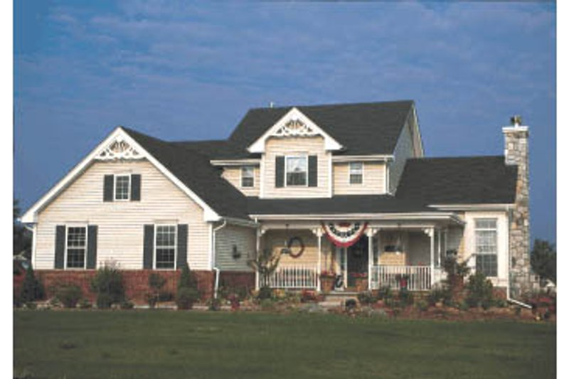 Home Plan - Country Exterior - Front Elevation Plan #20-2019