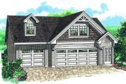 Cottage Style House Plan - 1 Beds 1 Baths 1468 Sq/Ft Plan #47-514