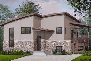 Modern Exterior - Front Elevation Plan #23-2227