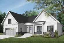Dream House Plan - Farmhouse Exterior - Front Elevation Plan #23-2679