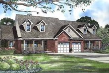House Design - Traditional Exterior - Front Elevation Plan #17-548