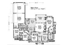 European Floor Plan - Main Floor Plan Plan #310-1282