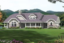 Contemporary Exterior - Front Elevation Plan #57-583