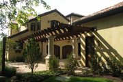 Mediterranean Style House Plan - 5 Beds 7.5 Baths 8756 Sq/Ft Plan #458-22 Exterior - Other Elevation