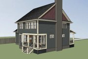 Country Style House Plan - 3 Beds 2.5 Baths 2141 Sq/Ft Plan #79-258 Exterior - Other Elevation