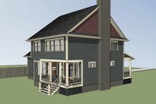 Dream House Plan - Country Exterior - Other Elevation Plan #79-258