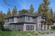 Contemporary Style House Plan - 5 Beds 5 Baths 4310 Sq/Ft Plan #1066-69