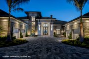 Contemporary Style House Plan - 5 Beds 5.5 Baths 7466 Sq/Ft Plan #930-513 Exterior - Other Elevation