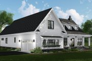 Farmhouse Style House Plan - 3 Beds 2.5 Baths 2332 Sq/Ft Plan #51-1141 Exterior - Other Elevation
