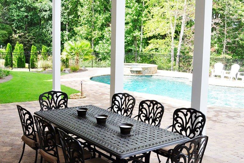 Craftsman Exterior - Outdoor Living Plan #437-60 - Houseplans.com
