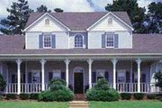Southern Style House Plan - 4 Beds 3.5 Baths 3153 Sq/Ft Plan #45-164 Exterior - Front Elevation