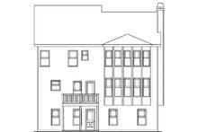 House Plan Design - Craftsman Exterior - Rear Elevation Plan #419-202