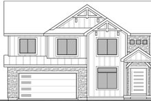 House Plan Design - Craftsman Exterior - Front Elevation Plan #1073-16