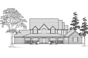 Farmhouse Exterior - Front Elevation Plan #61-236