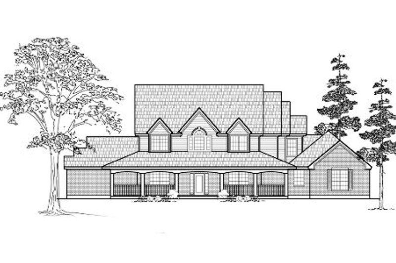 Farmhouse Exterior - Front Elevation Plan #61-236