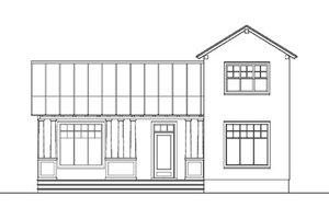 Craftsman Exterior - Front Elevation Plan #492-6