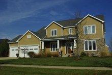 Dream House Plan - Craftsman Exterior - Front Elevation Plan #20-2122