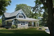 Craftsman Style House Plan - 4 Beds 3.5 Baths 3797 Sq/Ft Plan #928-304 Exterior - Other Elevation
