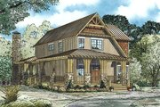 Country Style House Plan - 5 Beds 3 Baths 2790 Sq/Ft Plan #17-2452 Exterior - Other Elevation