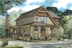 Country Exterior - Other Elevation Plan #17-2452