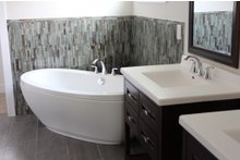 House Plan Design - Traditional Interior - Master Bathroom Plan #20-2126