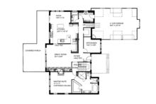 Ranch Floor Plan - Main Floor Plan Plan #117-850