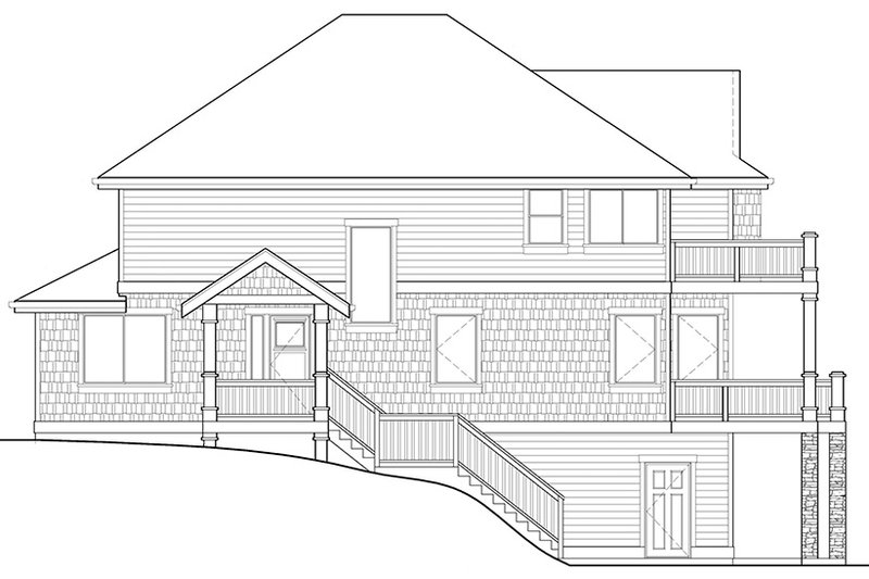 Craftsman Exterior - Other Elevation Plan #569-23 - Houseplans.com