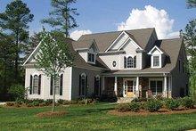 House Plan Design - Craftsman Exterior - Front Elevation Plan #453-273