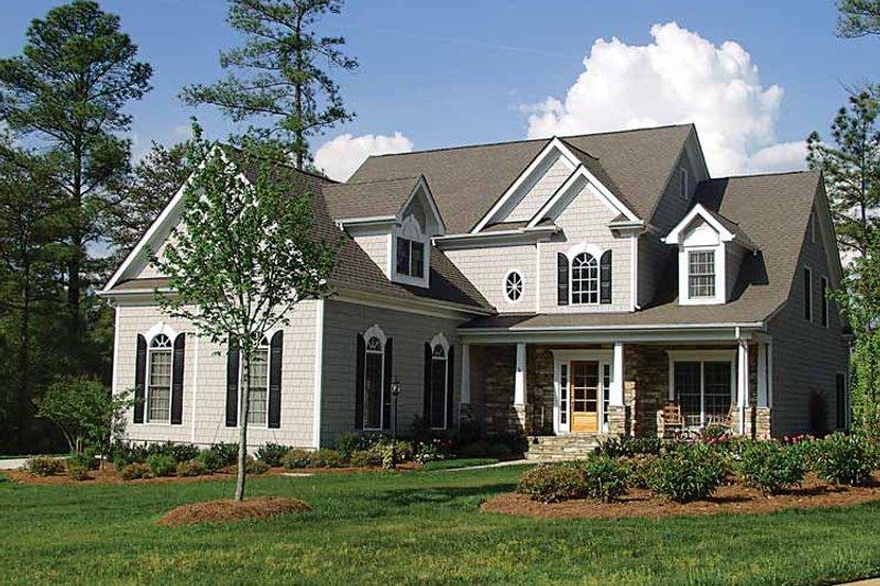 Craftsman Exterior - Front Elevation Plan #453-273
