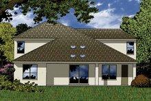 Contemporary Exterior - Rear Elevation Plan #1015-49