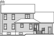 Traditional Exterior - Rear Elevation Plan #23-841