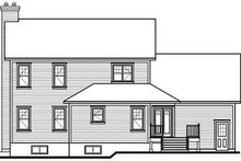 Traditional Exterior - Rear Elevation Plan #23-841