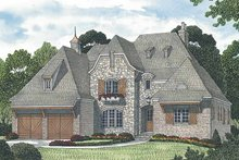 Home Plan - European Exterior - Front Elevation Plan #453-588