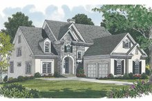 Home Plan - Traditional Exterior - Front Elevation Plan #453-529