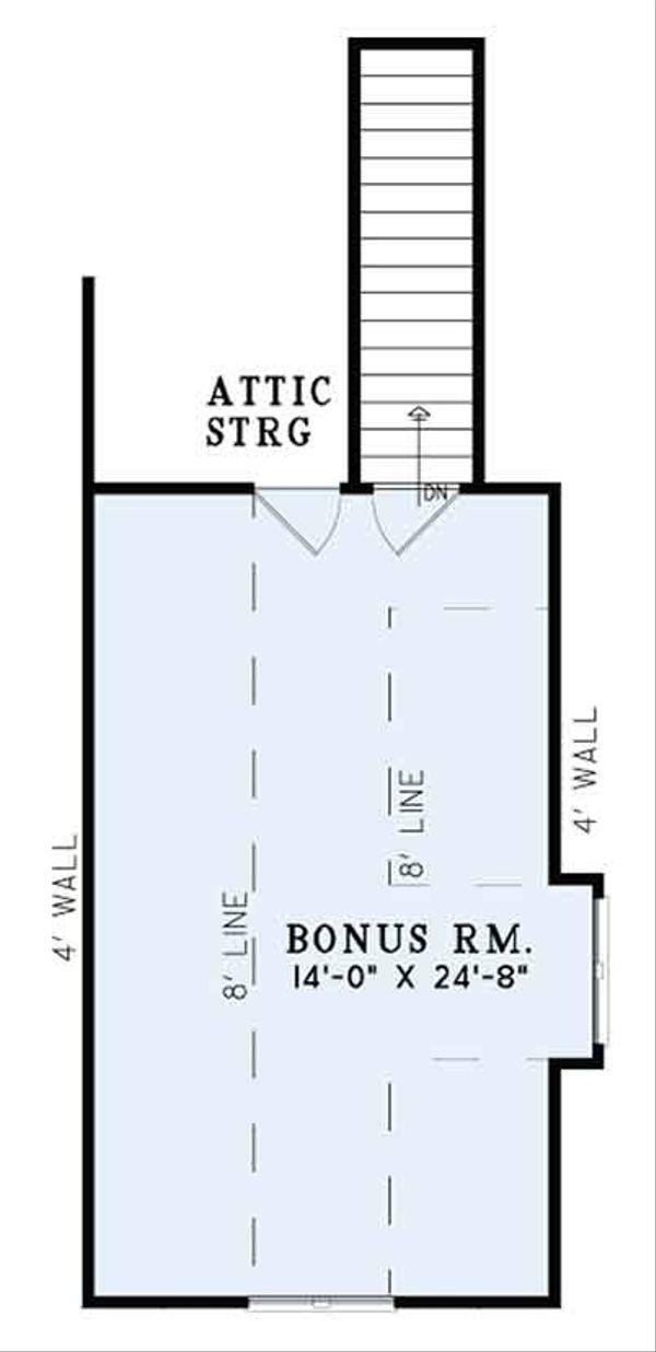 European Floor Plan - Other Floor Plan Plan #17-3387
