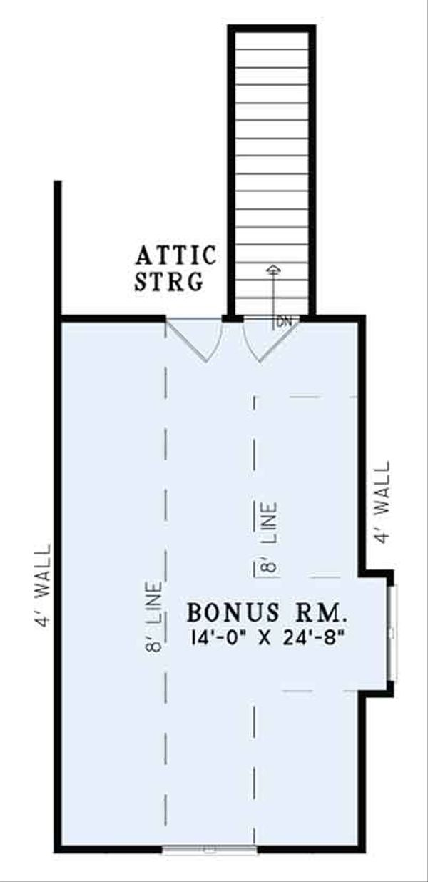 European Floor Plan - Other Floor Plan Plan #17-3387