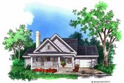 Country Style House Plan - 3 Beds 2.5 Baths 1558 Sq/Ft Plan #929-254