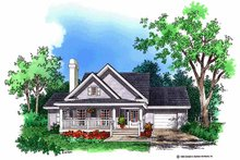 House Design - Country Exterior - Front Elevation Plan #929-254