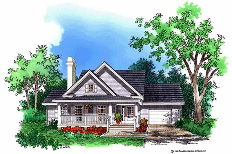 Country Exterior - Front Elevation Plan #929-254 - Houseplans.com