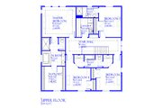 Traditional Style House Plan - 4 Beds 3.5 Baths 3221 Sq/Ft Plan #901-142 Floor Plan - Upper Floor Plan