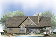 House Plan Design - Ranch Exterior - Rear Elevation Plan #929-798
