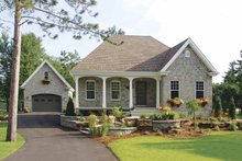 Country Exterior - Front Elevation Plan #23-2330