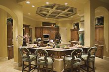 Mediterranean Interior - Kitchen Plan #930-417