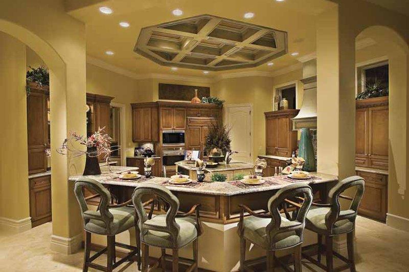 Mediterranean Interior - Kitchen Plan #930-417 - Houseplans.com