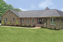 Dream House Plan - Ranch Exterior - Front Elevation Plan #314-222